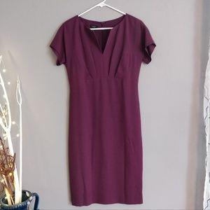 Talbots wool crepe dress